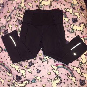 Lululemon Crop reflective leggings